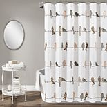 Lush Decor Rowley Birds Shower Curtain