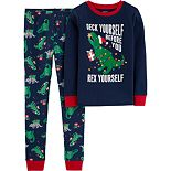 Boys 4-8 Carter's Holiday 2-Piece Pajamas