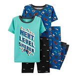 Boys 4-8 Carter's Space 4-Piece Pajamas