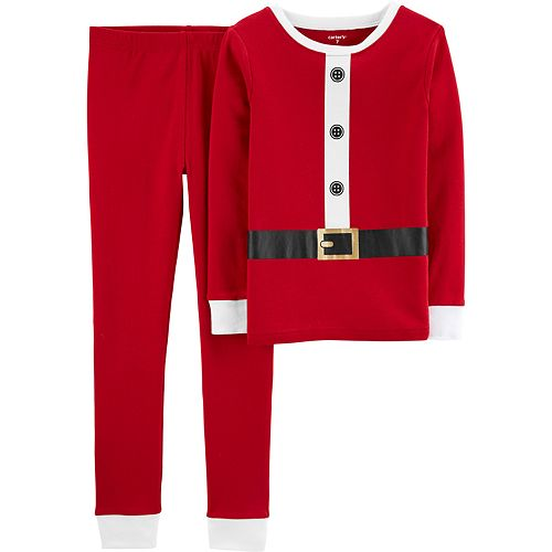 Boys 4-8 Carter's Santa 2-Piece Pajama Set