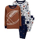 Boys 4-8 Carter's Dinosaur 4-Piece Pajama Set