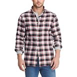 Big & Tall Chaps Performance Flannel Button-Down Shirt