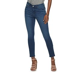 2a83e346d334f Women's Jennifer Lopez Skinny Ankle Jeans