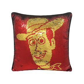 Disney / Pixar Toy Story Buzz Lightyear & Woody Shimmer Pillow