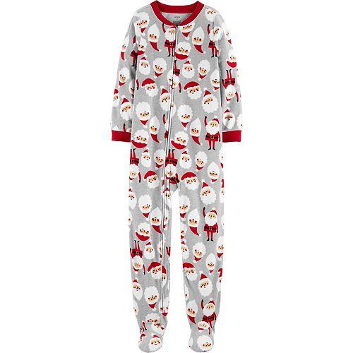 Boys 4-8 Carter's One Piece Fleece Pajamas