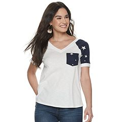 79bbe578 Womens Rock & Republic T-Shirts Tops & Tees - Tops, Clothing | Kohl's
