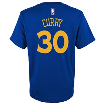 Boys 4-18 Golden State Warriors Stephen Curry Name & Number Tee