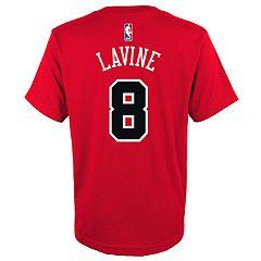 54379c98c5da Boys 4-18 Chicago Bulls Zach LaVine Name   Number Tee