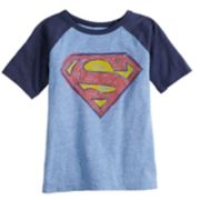 Boys 4-12 Jumping Beans® DC Comics Superman Raglan Graphic Tee