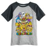 Boys 4-12 Jumping Beans® Super Mario Bros. Bad Boys Raglan Graphic Tee