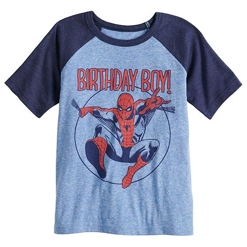 810909582 Boys 4-12 Jumping Beans® Marvel Spider-Man