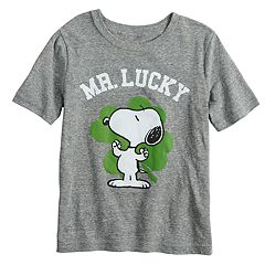 Boys 4-12 Jumping Beans® Peanuts Snoopy 'Mr. Lucky' St. Patrick's Day Graphic Tee