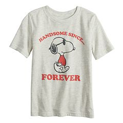 Boys 4-12 Jumping Beans® Peanuts Snoopy 'Handsome Since Forever' Graphic Tee