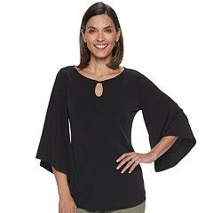 Women's Dana Buchman Kimono-Sleeve Henley Top