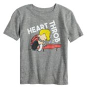 """Boys 4-12 Jumping Beans® Peanuts Schroeder """"Heart Throb"""" Graphic Tee"""