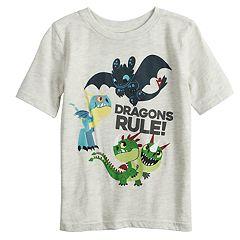 Boys 4-12 Jumping Beans® 'Dragons Rule!' Raglan Tee