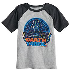 Boys 4-12 Jumping Beans® Star Wars Darth Vader Raglan Graphic Tee
