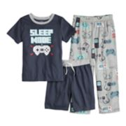 Boys 4-14 Carter's Printed 3-Pajama Set