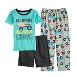 Boys 4-14 Carter's Printed 3-Pajama Set