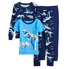 10cfc15ab7 Boys 4-12 Carter s Printed 4-Piece Pajama Set
