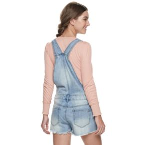 Juniors' American Rag Denim Shortalls
