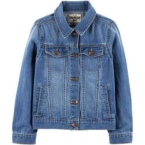 Girls 4-12 OshKosh B'gosh® Denim Jacket