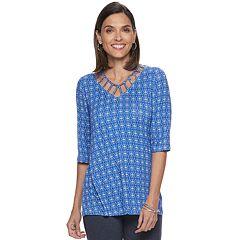 cbea91490ba277 Womens Dana Buchman Tops, Clothing | Kohl's