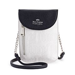 5d6beeb84c55 Juicy Couture Cellie Mini Crossbody Bag. White Black Denim
