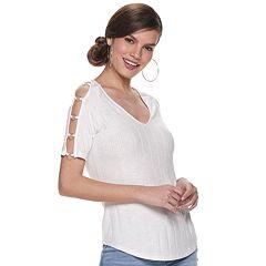 e245464185a18 Womens White Crop Tops Tops   Tees - Tops