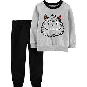 Baby Boy Carter's 2 Piece Monster Top & Jogger Pants Set