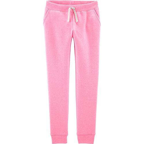 Girls 4-12 OshKosh B'gosh® Logo Fleece Pants