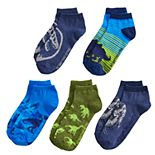 Boys Jurassic World 5-Pack Low-Cut Socks