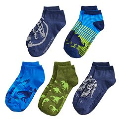 Boys 4-20 Jurassic World 5-Pack Low-Cut Socks