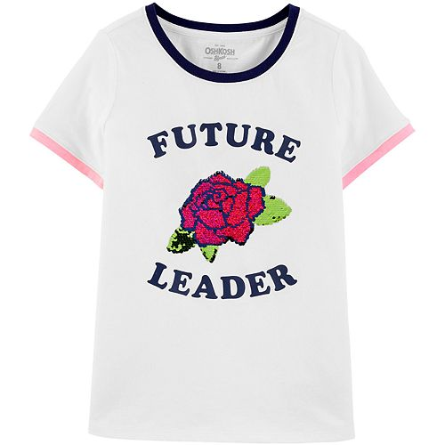Girls 4-12 OshKosh B'gosh® Future Leader Flip Sequin Tee