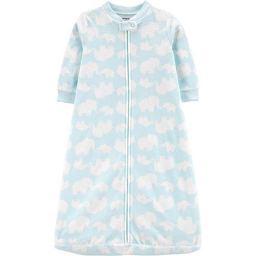 Baby Girl Carter's Elephant Fleece Sleep Bag