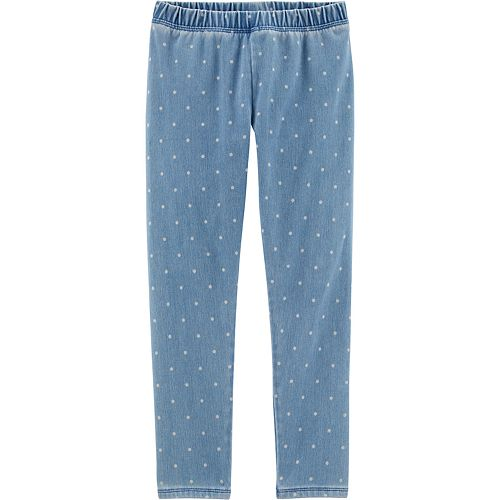 Girls 4-12 OshKosh B'gosh® Polka-Dot Jeggings