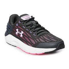 7321be15aa59 Under Armour Charged Rogue Grade School Girls  Running Shoes