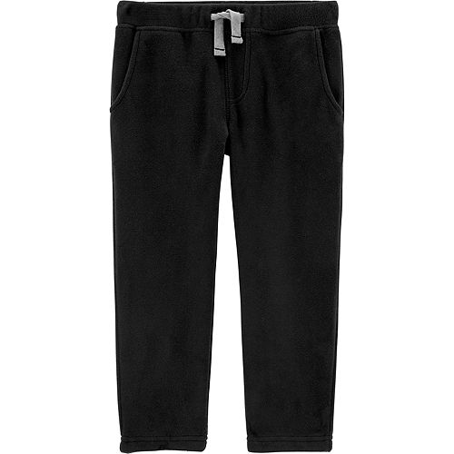 Toddler Boy Carter's Pull-On Fleece Pants