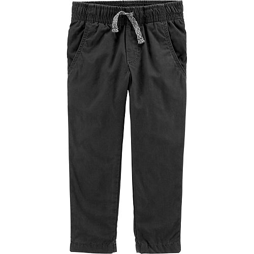 Toddler Boy Carter's Pull-On Poplin Play Pants