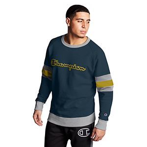 Men's Champion Powerblend Colorblock Sweatshirt
