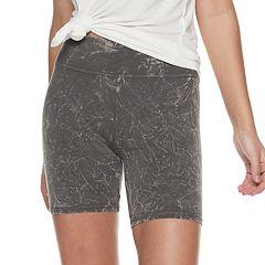 Juniors' SO® Long Bike Shorts