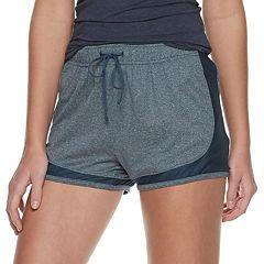 Juniors' SO® Closed Side Mesh Running Shorts
