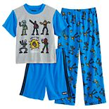 Boys 8-16 Fortnite Boogie 3-piece Pajama Set