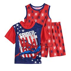 7fbe5655 Boys 4-10 Spider-Man 3-Piece Pajama Set