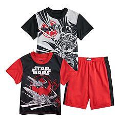 bc3c5325f Boys Kids Star Wars Sleepwear