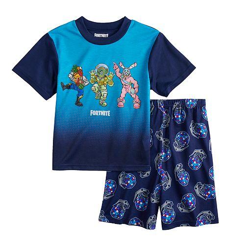 b5f75173d Boys 8-16 Fortnite Dance 2-Piece Pajama Set