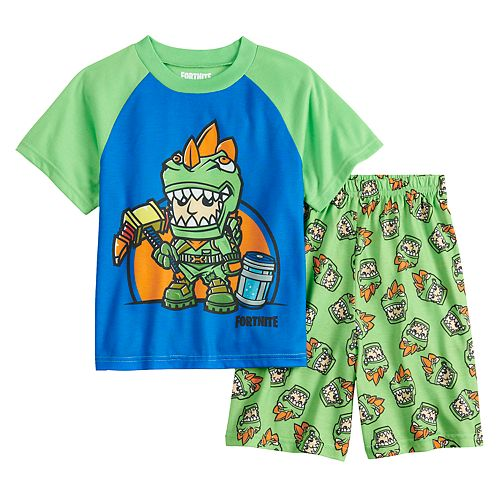 Boys 8-16 Fortnite 2-Piece Pajama Set