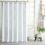 Peri Home Lattice Shower Curtain