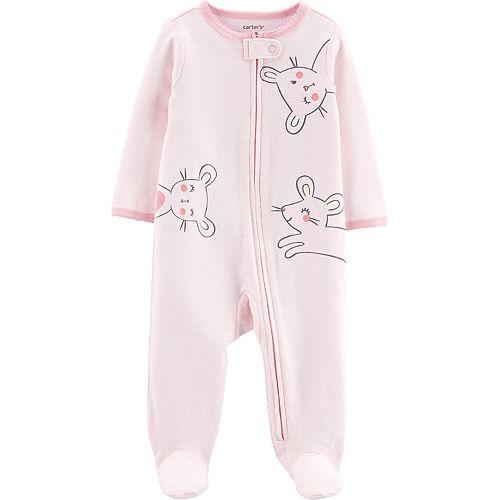 Baby Girl Carter's Mouse Sleep & Play