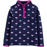 Girls 4-14 OshKosh B'gosh® Rainbow Heart B'gosh Fleece Cozie